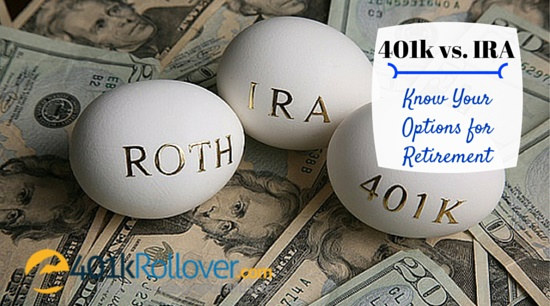 401k vs ira options