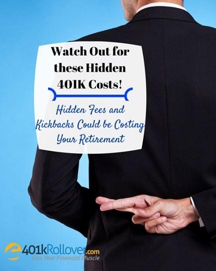 hidden 401k costs retirement
